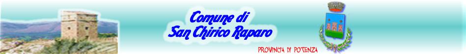 Portale Istituzionale del Comune di San Chirico Raparo (PZ)